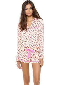 Juicy Couture Frolic Floral PJ Top