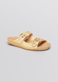 Stuart Weitzman Flat Sandals - Freely Doublestrap