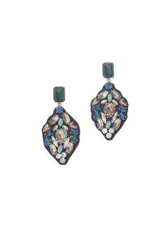 Seaport stone earrings