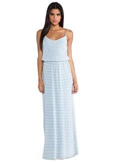 Splendid Indigo Dye Maxi Dress in Blue