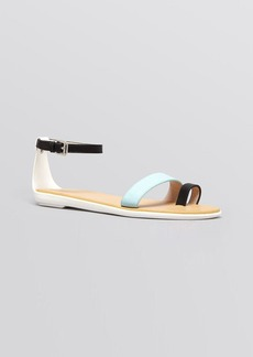 FRENCH CONNECTION Flat Ankle Strap Sandals - Terri