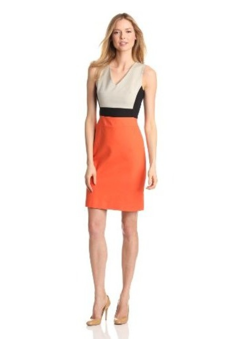 Kenneth Cole New York Women's Marcie Color Blocked Dress