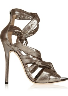 Jimmy Choo Kemble lamé sandals