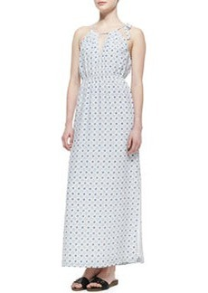 Amaretta Printed Silk Maxi Dress   Amaretta Printed Silk Maxi Dress