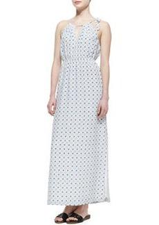 Amaretta Printed Silk Maxi Dress   Amaretta Printed Silk Maxi Dress