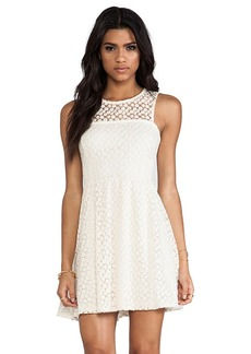 Ella Moss Taylor Lace Dress in Ivory