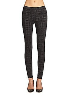 Joie Keena Geometric-Print Leggings