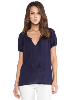 Joie Veloria Top in Navy