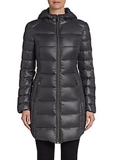 Saks Fifth Avenue BLUE Channel-Quilted Puffer Jacket
