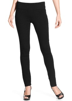 Style&co. Petite Jeans, Skinny Pull-On, Black Wash