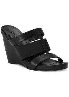 Calvin Klein Women's Dunley Wedge Sandals