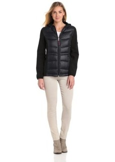 Tommy Hilfiger Women's Mixed Media Soft Shell Jacket