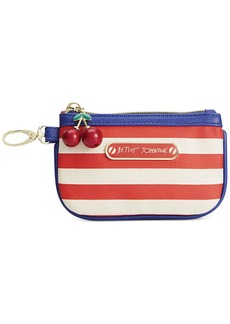 Betsey Johnson Macy's Exclusive American Zip Coin Purse