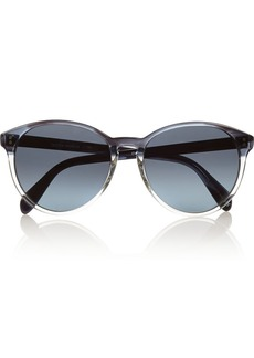 Oliver Peoples Corie round-frame acetate sunglasses
