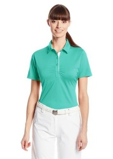Cutter & Buck Women's Drytec Alder Short Sleeve Polo with Rouching