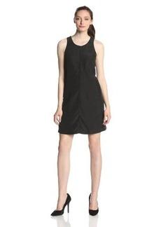 Calvin Klein Jeans Women's Cut Out Darted Shift Dress