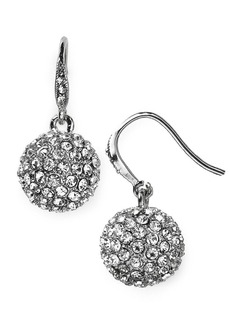 ABS by Allen Schwartz Modern Pave Drop Earrings