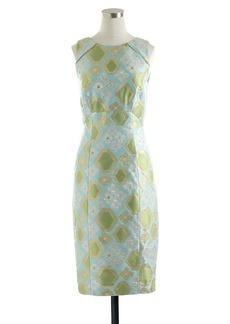 Collection geo brocade dress