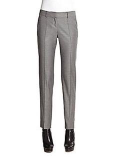 St. John Carine Shimmer Twill Pants