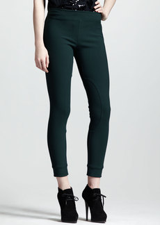Lanvin Equestrian Stretch Leggings