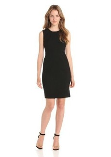 Calvin Klein Women's Sleeveless Sheath Dress