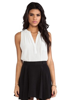 Joie Senia Polka Dot Tank in White