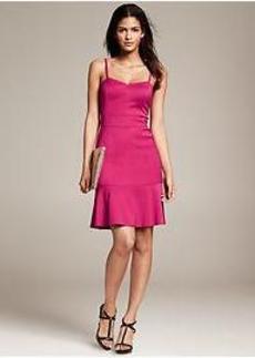 Strappy Flounce Dress