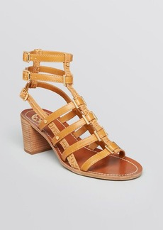 Tory Burch Gladiator Sandals - Reggie Block Heel