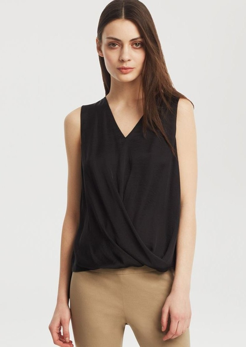 Kenneth Cole New York Dahlia Drape Front Knit Top