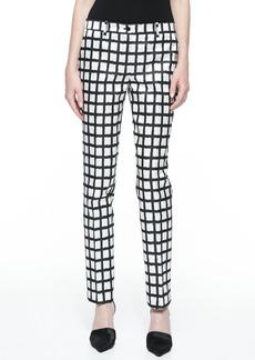 Michael Kors Samantha Ikat Duchesse Skinny Pants