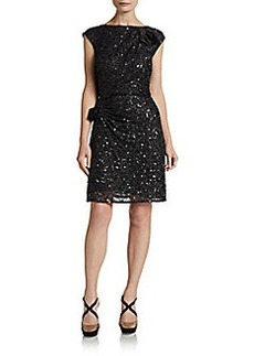 ABS Circle Back Sequined Dress