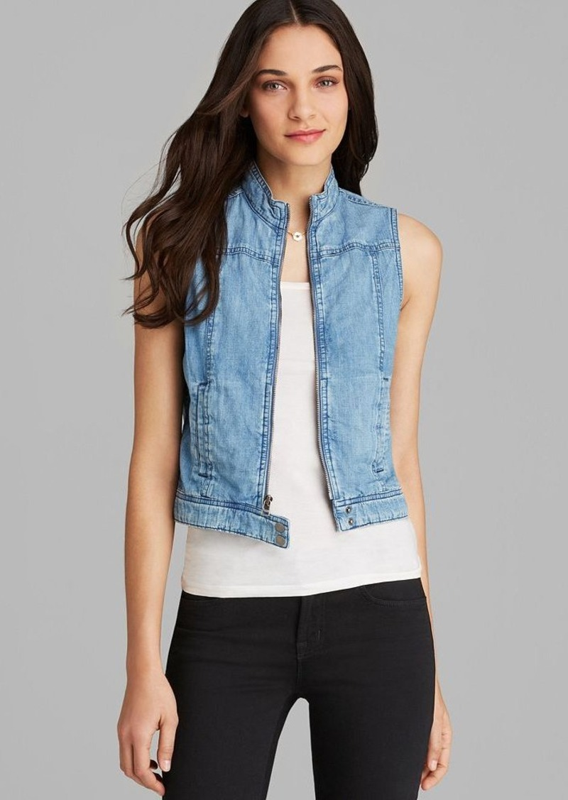AG Adriano Goldschmied Vest - Twilight Denim