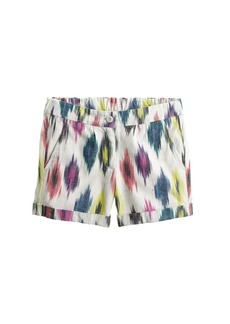 Watercolor ikat short