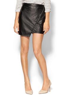 Sanctuary Blogger Vegan Leather Skirt