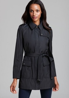 Calvin Klein Coat - Belted Trench