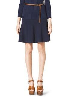 Michael Kors Flouncy Jersey Skirt