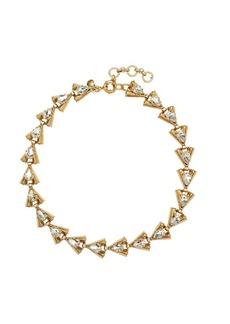 Linked arrowhead necklace