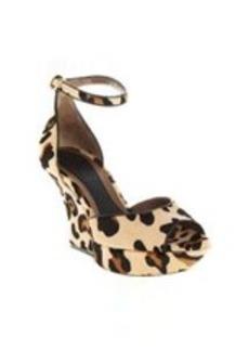 Marni Leopard Haircalf Platform Sandal