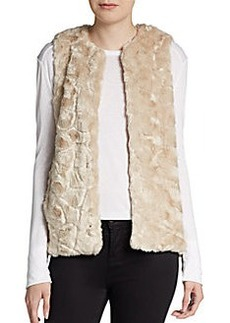 French Connection Nala Faux-Fur Vest