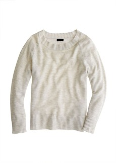 Collection cashmere plaited rib-trim sweater
