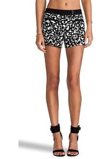 Trina Turk Elma Shorts in Black