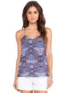 Tibi Ibis Cami Tank in Purple
