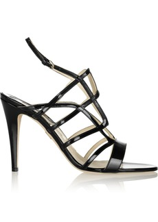 Brian Atwood Gwen patent-leather sandals