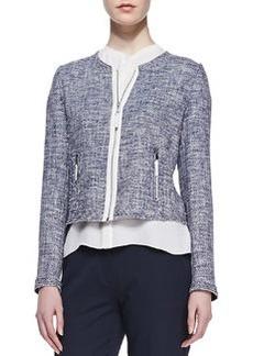 Elie Tahari Pearson Knit Jacket