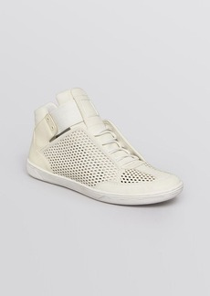 Dolce Vita Lace Up High Top Sneakers - Vinna