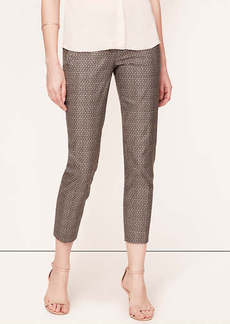 Tall Star Anise Print Ankle Pants in Marisa Fit