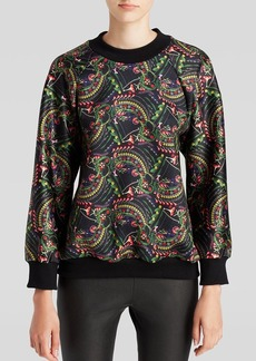 Cynthia Rowley Sweatshirt - Jeweled Floral
