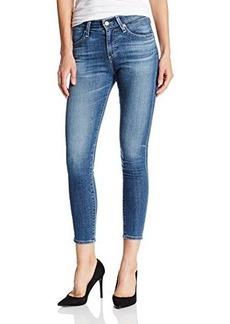 AG Adriano Goldschmied Women's Farrah Skinny Crop Jean In 12 Year Visionary