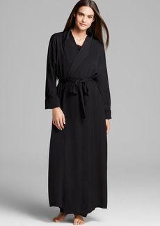 Donna Karan Sleepwear Tissue Crepe Robe