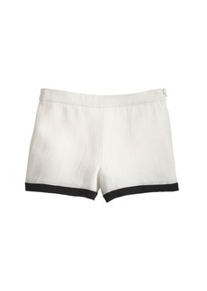 Collection tipped short in Italian linen